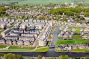 Nederland, Zuid-Holland, Voorschoten, 09-05-2013;<br /> Krimwijk, gelegen aan de Vliet. Gelegen tussen Leiden en Den Haag.<br /> Residential area near The Hague.<br /> luchtfoto (toeslag op standard tarieven)<br /> aerial photo (additional fee required)<br /> copyright foto/photo Siebe Swart