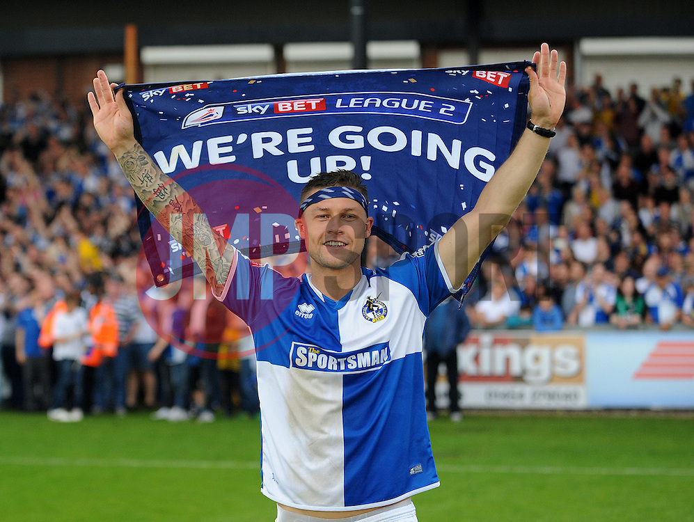 James Clarke of Bristol Rovers - Mandatory by-line: Neil Brookman/JMP - 07/05/2016 - FOOTBALL - Memorial Stadium - Bristol, England - Bristol Rovers v Dagenham and Redbridge - Sky Bet League Two