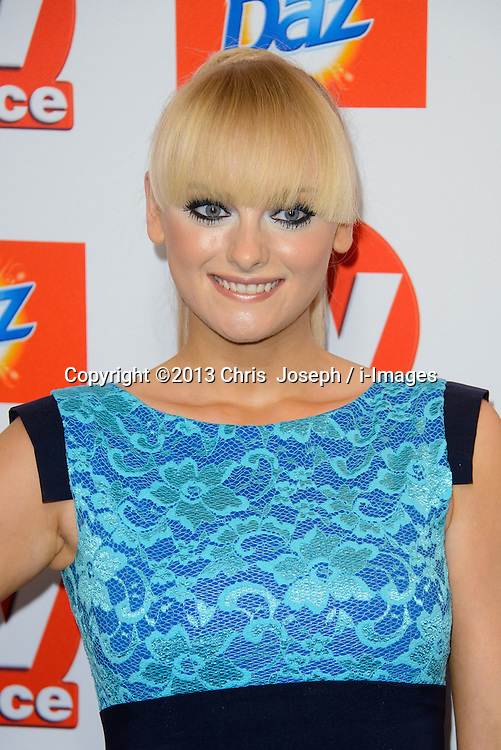 TV Choice Awards 2013 - London.<br /> Katie McGlynn arriving at the TV Choice Awards 2013, The Dorchester Hotel, London, United Kingdom. Monday, 9th September 2013. Picture by Chris  Joseph / i-Images