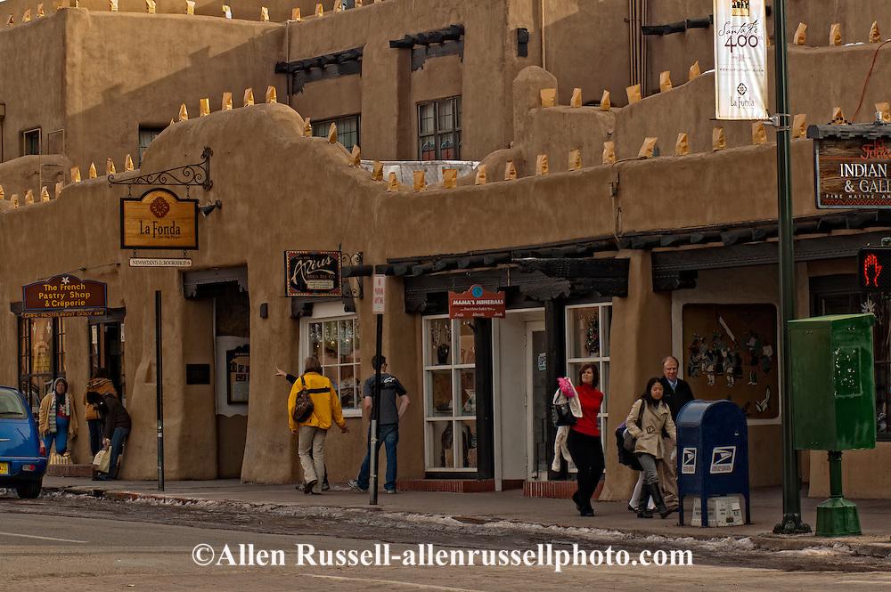 La Fonda On The Plaza Hotel Santa Fe New Mexico