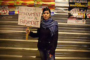 The next eviction must be the Parliament. 15-M MovementsGeneral Strike in Spain and Portugal. Throughout Europe thousands of people demonstrated against the austerity measures imposed by the governments.<br /> <br /> Portugal and Spain joined an Iberin strike convened by the major labor unions.