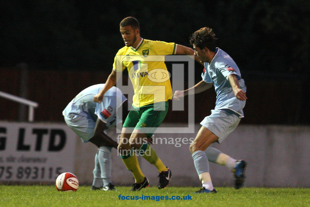 Taylor McKenzie of Norwich in action during a pre season friendly at New Lodge Stadium, Billericay...Picture by Paul Chesterton/Focus Images Ltd.  07904 640267.4/8/11