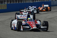Mike Conway, Milwaukee IndyFest, Milwaukee Mile, West Allis, WI 06/16/12