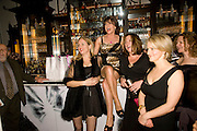IMOGEN EDWARDS-JONES; KATHY LETTE, JESSICA ADAMS; MAGGIE ALDERSON. Book party; Jessica Adams, Maggie Alderson, Imogen Edwards-Jones and Kathy Lette host the launch of 'In Bed With.' Artesian, The Langham, Portland Place. London. 11 February 2009 *** Local Caption *** -DO NOT ARCHIVE-© Copyright Photograph by Dafydd Jones. 248 Clapham Rd. London SW9 0PZ. Tel 0207 820 0771. www.dafjones.com.<br /> IMOGEN EDWARDS-JONES; KATHY LETTE, JESSICA ADAMS; MAGGIE ALDERSON. Book party; Jessica Adams, Maggie Alderson, Imogen Edwards-Jones and Kathy Lette host the launch of 'In Bed With.' Artesian, The Langham, Portland Place. London. 11 February 2009
