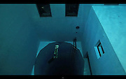 How does he hold his breath for so long? Stunning video shows free-diver plunging 33m to bottom of world's deepest pool<br /> <br /> Stunning footage shows daredevil free-diver Guillaume Néry plummeting to the depths of the world's deepest swimming pool.<br /> The astonishing video sees the 29-year-old plunging, without any breathing equipment whatsoever, a staggering 33metres to the bottom of the NEMO 33.<br /> The venue, in central Brussels, Belgium, contains 2.5million litres of non-chlorinated spring water and is usually reserved for scuba drivers to train in.<br /> <br /> With its simulated underwater caves, and constant toasty temperatures, it provides the perfect place for budding divers to gain their qualifications.<br /> <br /> For French-born Néry the dive would have been a welcome change from his usual escapades in harbours across the world.<br /> <br /> <br /> <br /> The constant-weight free-diving specialist broke the world record in 2002 by descending 87metres in the Villefranche-sur-Mer harbour, in Alpes-Maritimes, France.<br /> And in 2004, he plunged 96metres in Saint-Leu, la Réunion, before battering the record again in 2006 with a 109metre dive in Nice, France.<br /> His feat has subsequently been beaten by two other divers, with Herbert Nitsch currently holding the title with 124metres.<br /> ©Exclusivepix
