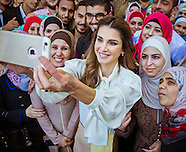 Queen Rania Atends QRTA Event Launch