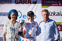 Asja Paladin (ITA) earns the climber's jersey at Emakumeen Bira 2018 - Stage 4, a 120 km road race starting and finishing in Durango, Spain on May 22, 2018. Photo by Sean Robinson/Velofocus.com