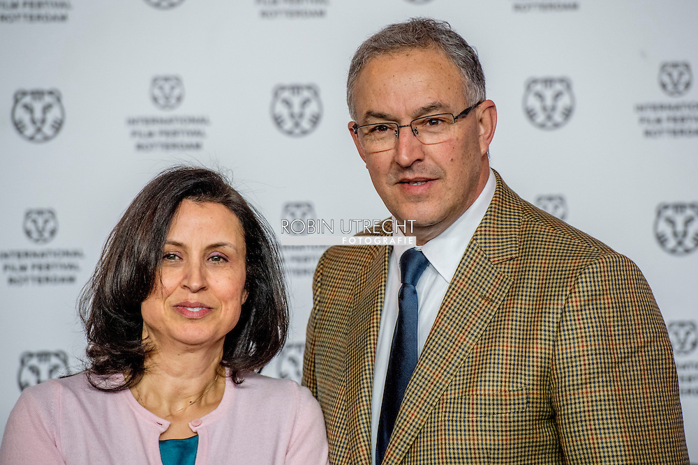ahmed aboutaleb en zijn vrouw ROBIN UTRECHT