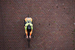 Chloe Hosking (AUS) at Boels Ladies Tour 2018 - Prologue, a 3.3 km time trial in Arnhem, Netherlands on August 28, 2018. Photo by Sean Robinson/velofocus.com