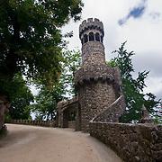 On the grounds of the Quinta da Regaleria garden