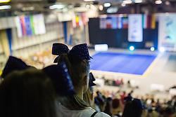 View on the court at ECU European Cheerleading Championships 2015 on June 27th 2015, in Hala Tivoli, Ljubljana. Photo by Matic Klansek Velej / Sportida