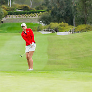 20 March 2017: The San Diego State Aztecs women's golf team hosts it's 5th annual March Mayhem tournament at The Farms Golf Club. SDSU took on Iowa in the first round of match play and won 3-2.<br /> www.sdsuaztecphotos.com