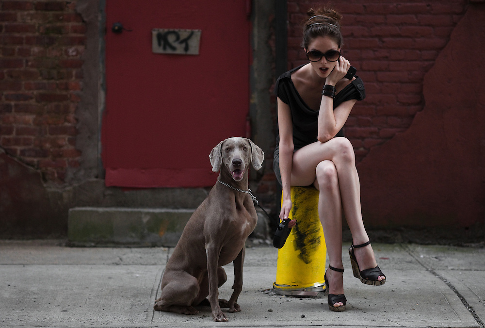 Coco Rocha, campagne Longchamp, New York