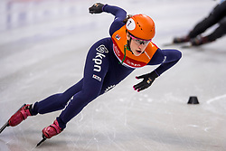 12-01-2018 DUI: ISU European Short Track Championships 2018 day 1, Dresden<br /> Suzanne Schulting NED #7