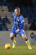 Gillingham midfielder Dean Parrett (8), during the EFL Sky Bet League 1 match between Gillingham and Wycombe Wanderers at the MEMS Priestfield Stadium, Gillingham, England on 15 December 2018.