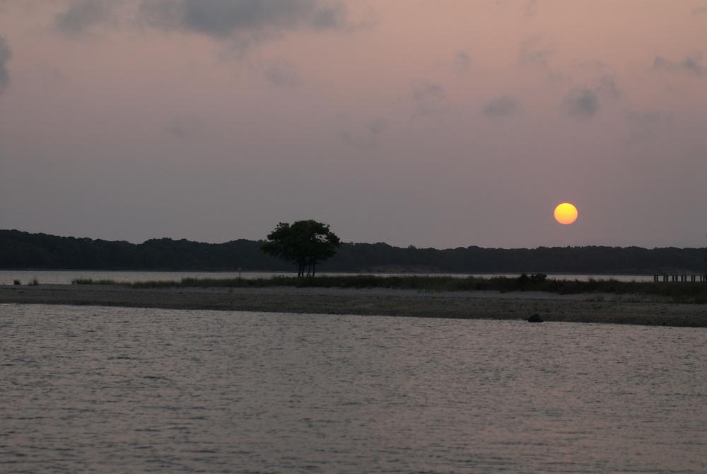 New York, Long Island, North Haven Sunrise