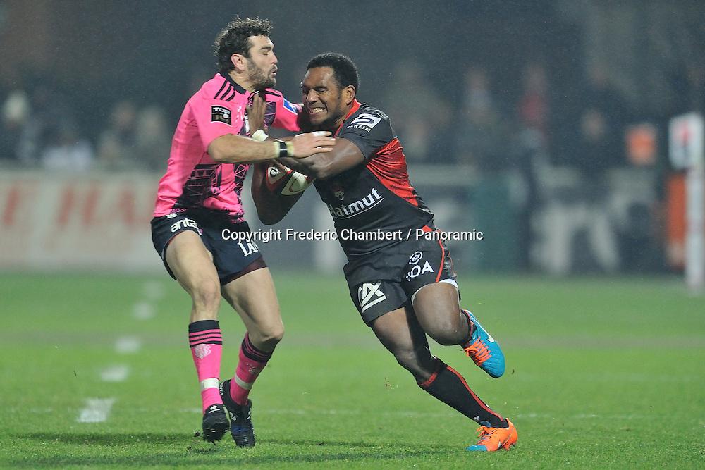 Mosese Ratuvou (lou) vs Julien Tomas (stade francais )