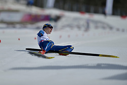 BATENKOVA luliia competing in the Nordic Skiing XC Long Distance at the 2014 Sochi Winter Paralympic Games, Russia
