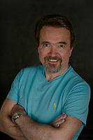 Jim Rogato head shot session.  ©2018 Karen Bobotas Photographer