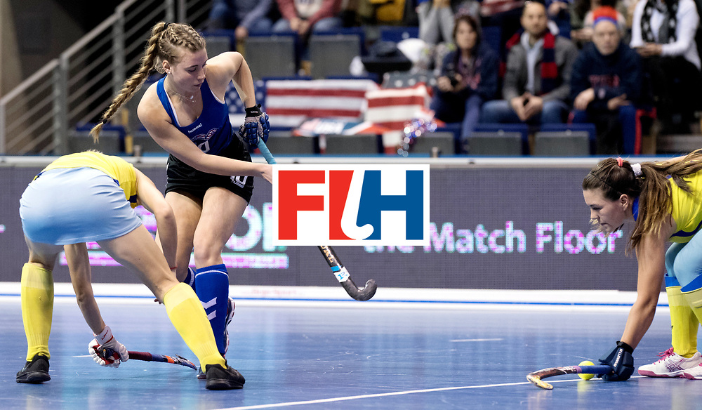 BERLIN - Indoor Hockey World Cup<br /> Women: United States - Kazakhstan<br /> foto: POPPER Sammy.<br /> WORLDSPORTPICS COPYRIGHT FRANK UIJLENBROEK