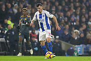 Brighton Midfielder Pascal Gross (13) during the Premier League match between Brighton and Hove Albion and Leicester City at the American Express Community Stadium, Brighton and Hove, England on 24 November 2018.