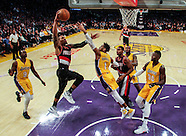 Basketball: 20170110 Lakers vs Trail Blazers