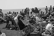 Watching the Roylal Wedding, De La Warr Pavilion, Bexhill on Sea. 19 May 2018