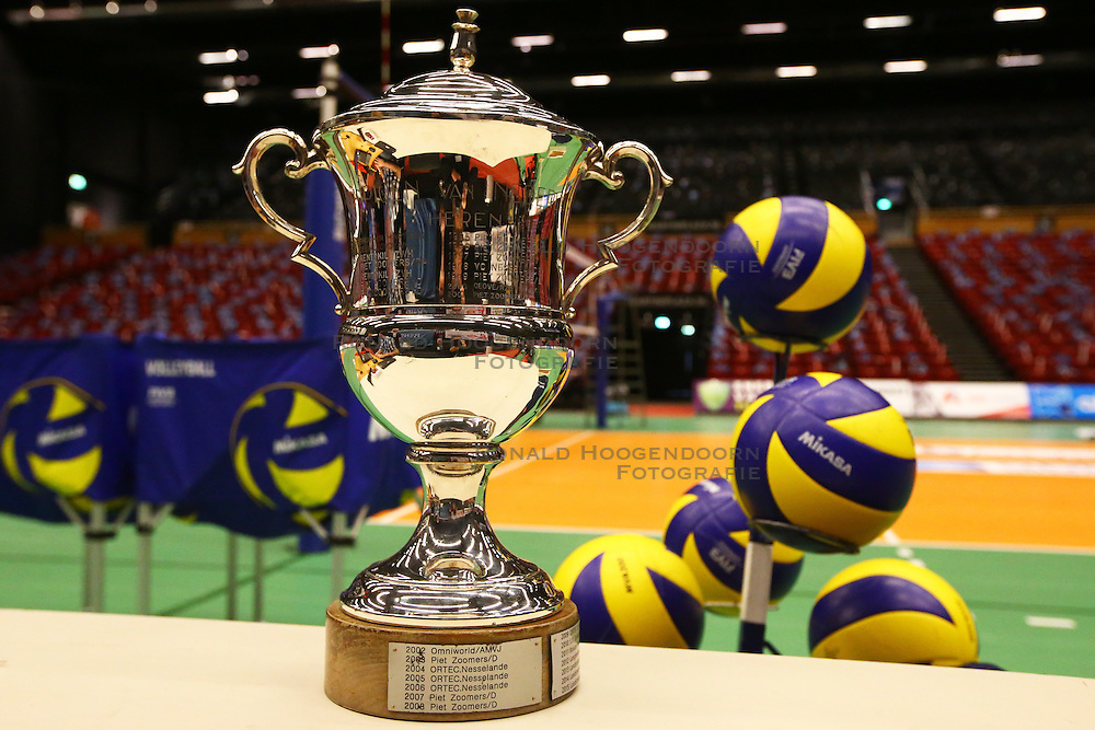 20160424 NED: Play off finale Abiant Lycurgus - Seesing Personeel Orion, Groningen<br />De Beker voor de Landskampioen Indoor Volleybal Mannen