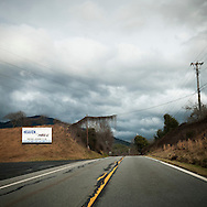 A church sign along a highway in western North Carolina that reads: WHERE WILL YOU SPEND ETERNITY? HEAVEN OR HELL. READ JOHN 3:16