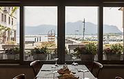 ITALY, Franciacorta area, Clusane D'Iseo, Trattoria al porto