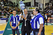 Stefano Sardara, Commando Ultra' Dinamo, Candeliere<br /> Banco di Sardegna Dinamo Sassari - Angelico Biella<br /> Legabasket Serie A Beko 2012-2013<br /> Sassari, 30/09/2012<br /> Foto L.Canu / Ciamillo-Castoria