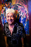 Ian McLagan at La Zona Rosa, Austin Texas, July 2, 2009.  . Ian 'Mac' McLagan can comfortably claim rock icon status, having written many Faces hits as well as touring and recording with the Rolling Stones