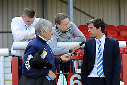 Pre match press - Photo mandatory by-line: Neil Brookman/JMP - Mobile: 07966 386802 - 18/04/2015 - SPORT - Football - Dover - Crabble Athletic Ground - Dover Athletic v Bristol Rovers - Vanarama Football Conference