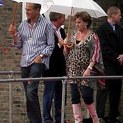 NLD/Amsterdam/20080907 - Gasten van het huwelijksfeest Nina Brink en Pieter Storms, Catherine keyl