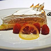 Lambs Club lemon tart