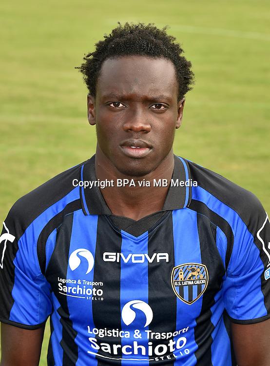 Italian League Serie B_2015-2016 / <br /> ( U. S. Latina Calcio ) -  <br /> Maodo Malick Mbaye
