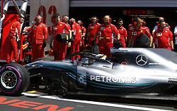 June 22, 2018 - Le Castellet, France - Motorsports: FIA Formula One World Championship 2018, Grand Prix of France, .#44 Lewis Hamilton (GBR, Mercedes AMG Petronas Motorsport) (Credit Image: © Hoch Zwei via ZUMA Wire)