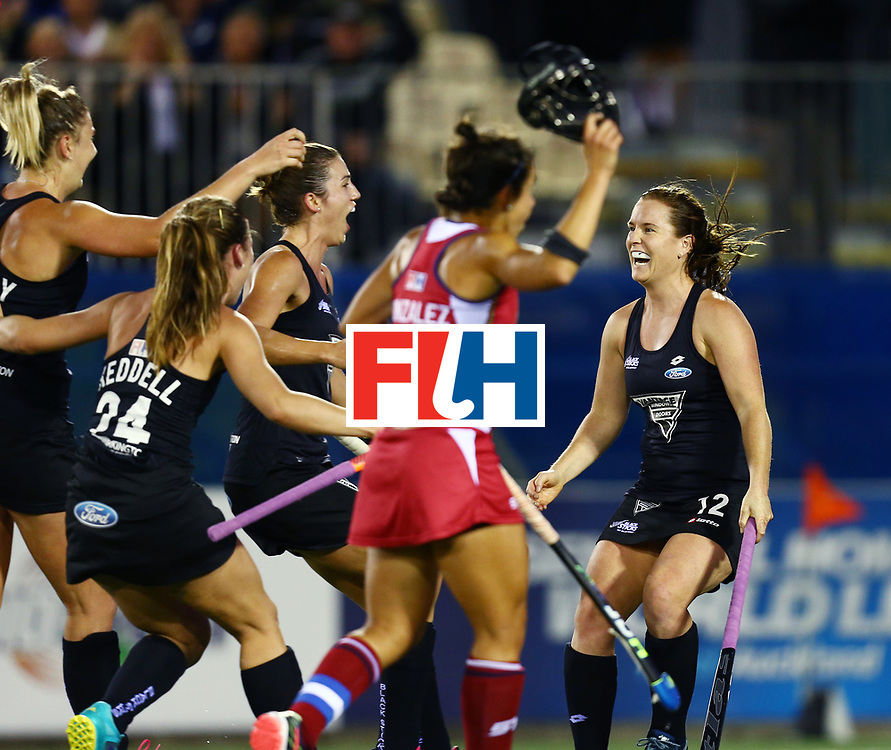 New Zealand, Auckland - 20/11/17  <br /> Sentinel Homes Women&rsquo;s Hockey World League Final<br /> Harbour Hockey Stadium<br /> Copyrigth: Worldsportpics, Rodrigo Jaramillo<br /> Match ID: 10300 - NZL vs USA<br /> Photo: