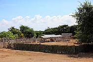 Farm on the south coast road from Santiago de Cuba to Pilon.