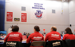 - Photo mandatory by-line: Paul Knight/JMP - Mobile: 07966 386802 - 30/01/2016 - BASKETBALL - SGS Wise Arena - Bristol, England - Bristol Flyers v Leeds Force - British Basketball League