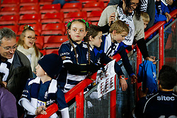 Young Bristol Rugby fans wait for autographs after their side lose the game - Mandatory byline: Rogan Thomson/JMP - 06/11/2015 - RUGBY UNION - Ashton Gate Stadium - Bristol, England - Bristol Rugby v Doncaster Knights - Greene King IPA Championship.