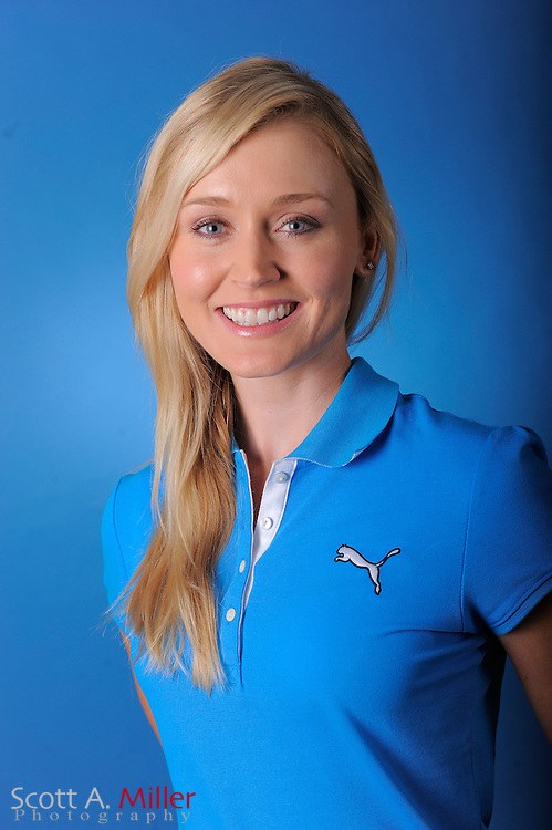 Blair O'Neal during a portrait session prior to the second stage of LPGA Qualifying School at the Plantation Golf and Country Club on Sept. 24, 2011 in Venice, FL...©2011 Scott A. Miller