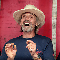 22/07/2013<br /> Actor Jeremy Irons officially opened the Union Hall Festival by The Sea on Sunday 21st July at the main square in Union Hall which was preceded by a colourful and fun fancy dress parade led by The Millstreet Pipe Band, St. Fachna's Silver Band, a parade of vintage cars and tractors and the local industrial parade. <br /> Picture: Emma Jervis