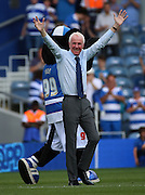 Stan Bowles on Stan Bowles day during the Sky Bet Championship match between Queens Park Rangers and Rotherham United at the Loftus Road Stadium, London, England on 22 August 2015. Photo by Matthew Redman.