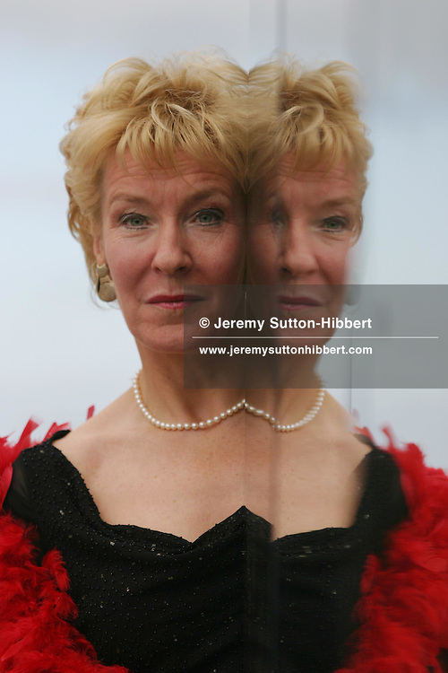 Christine Hamilton, at photocall for The Vagina Monologues, at Edinburgh Playhouse Theatre, August 2003...Edinburgh International Book Festival 2003, Edinburgh, Scotland.