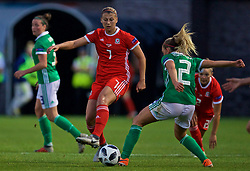 NEWPORT, WALES - Tuesday, September 3, 2019: Wales' Emma Jones during the UEFA Women Euro 2021 Qualifying Group C match between Wales and Northern Ireland at Rodney Parade. (Pic by David Rawcliffe/Propaganda)