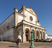 Sixteenth century Igreja do Espírito Santo, Church of the Holy Spirit, City of Evora, Alto Alentejo, Portugal, Southern Europe