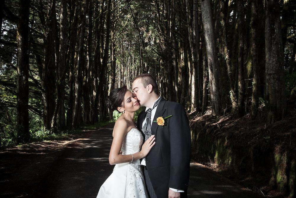 Fotografías de boda en Costa Rica.