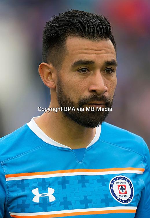 Mexico League - BBVA Bancomer MX 2015-2016 - <br /> La Maquina - Cruz Azul Fc / Mexico - <br /> Ariel Mauricio Rojas