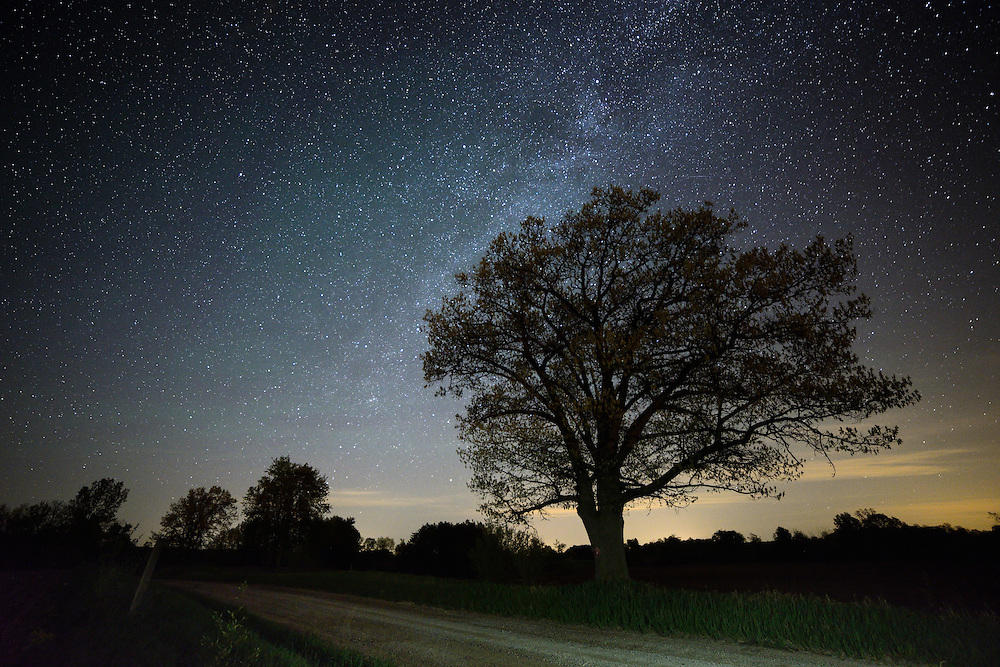 The Milky Way spans the sky during the early morning hours of 5/24/14.<br />